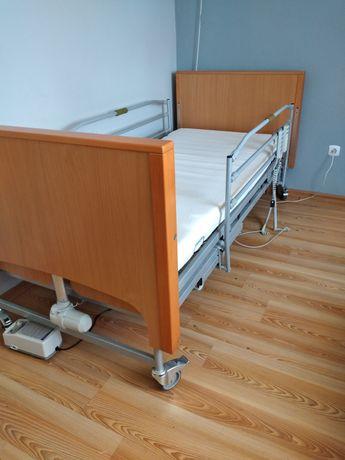 Łóżko rehabilitacyjne swing z funkcją przechyłu bocznego+materac