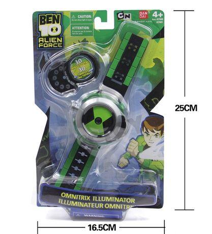 Проекционные часы Бен 10 Тен - Ben10 Omnitrix Projector Bandai