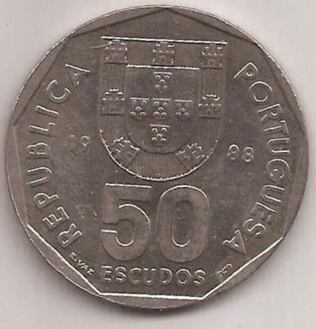 Lote de 200 moedas 50 escudos republica portuguesa por 10€