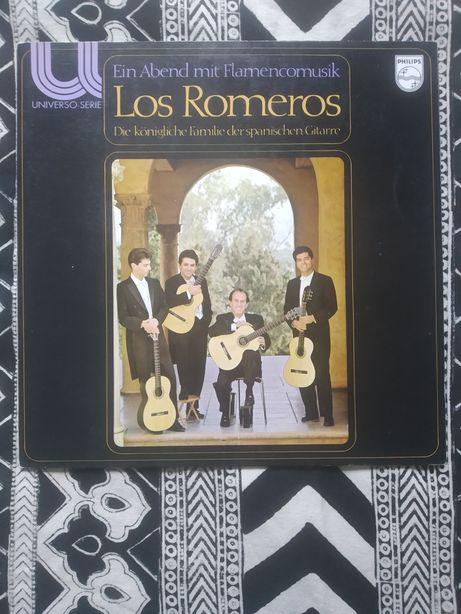 Los Romeros ein Abend mit Flamencomusik winyl płyta winylowa