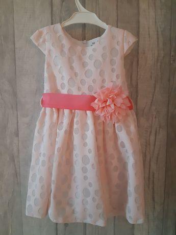 Elegancka sukieneczka 92 cm.