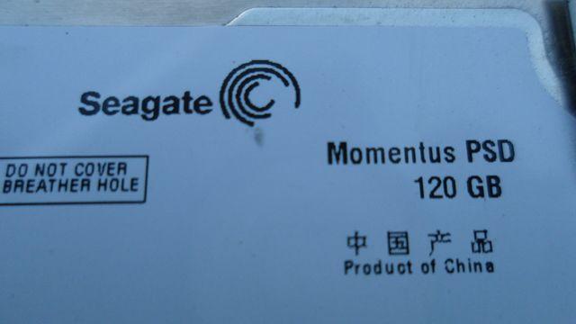 Жесткий диск для ноутбука Seagate Momentus PSD 120GB