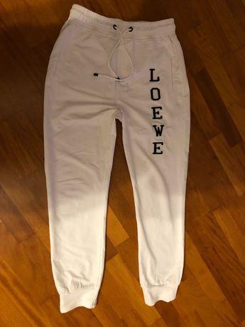 LOEWE spodnie dresowe białe balenciaga Dior pinko r.M