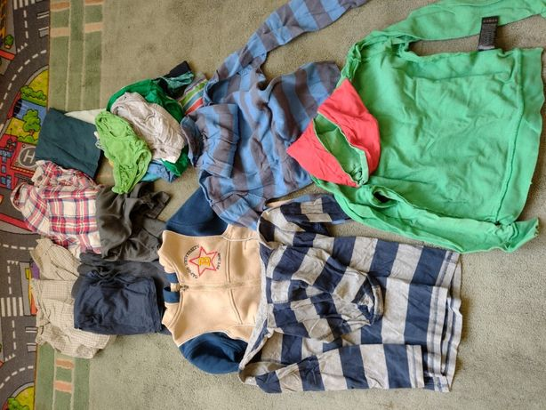 Ubranka dziecięce rozmiar 120-134
