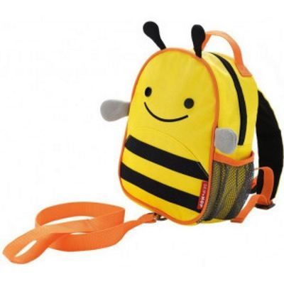 Skip Hop Zoo Мини рюкзак с родительским ремешком Пчелка