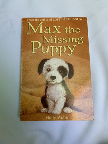 Książka do nauki języka angielskiego ,, Max the missing puppy''