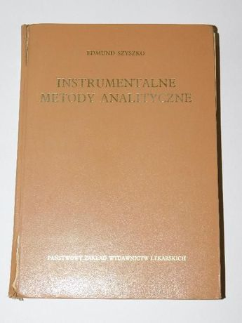 Instrumentalne Metody Analityczne Szyszko
