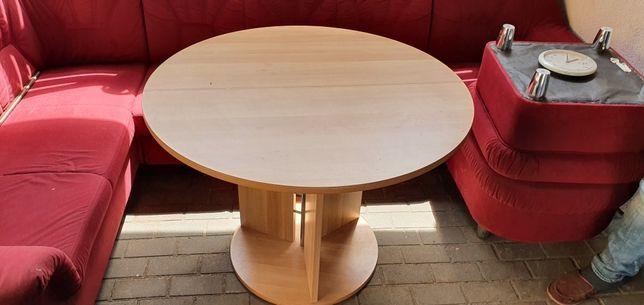Stół rozkładany z płyty biurowej