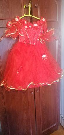Платье с фатином на Праздники.