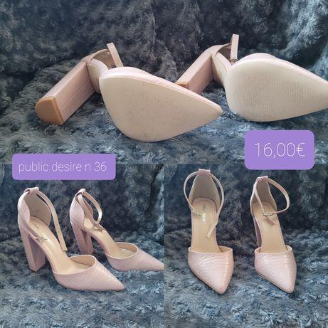 sapatos n 35 e 36
