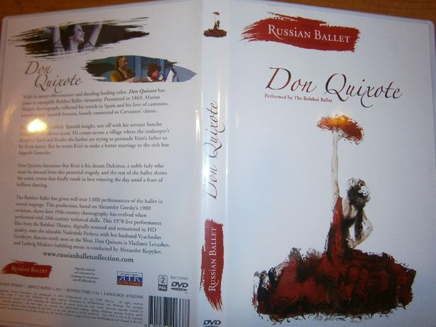 DVD - Don Quixote - Russian ballet