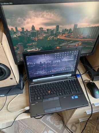 HP EliteBook Workstation 8570w i7 3840qm, 8GB, 480SSD, Quadro 2GB