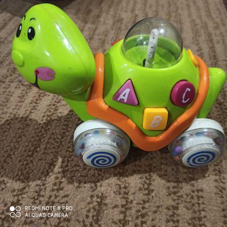 Żółw zabawka interaktywna