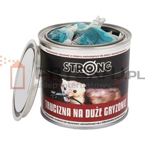 Trutka na Kunę Kuny Duże Gryzonie STRONG Pasta difenacoum 300g