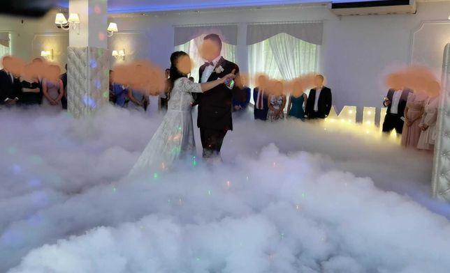 Taniec w chmurach 400zł ciężki dym na wesele