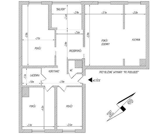 Mieszkanie 80,5m2 - Olkusz oś. Słowiki