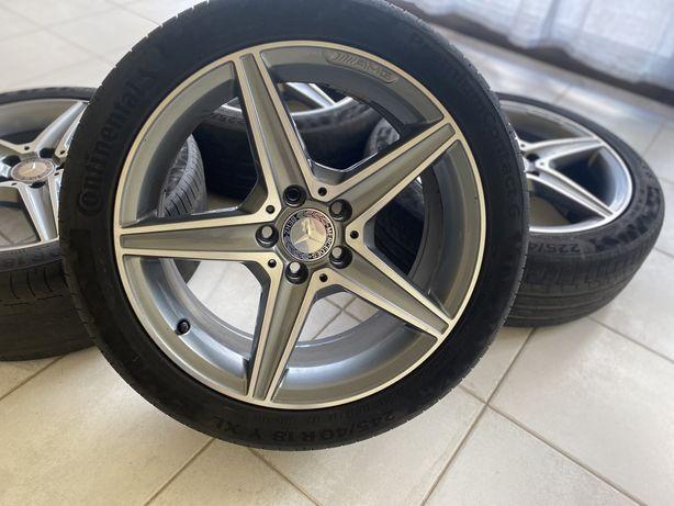"""Jantes 18"""" 5x112 AMG Originais Mercedes w205 w177 w176 vito w204 A C"""