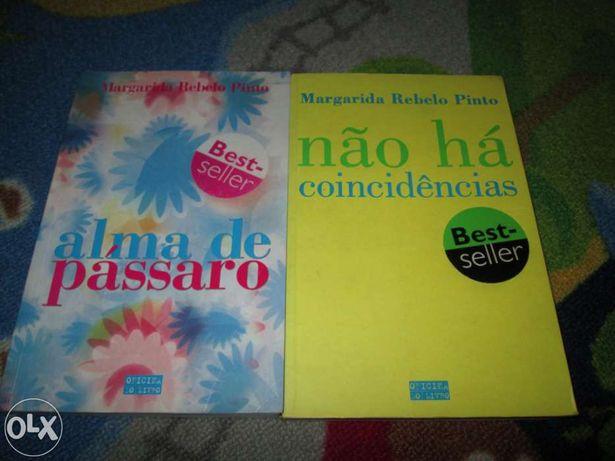 2 Livros Autor Margarida rebelo Pinto