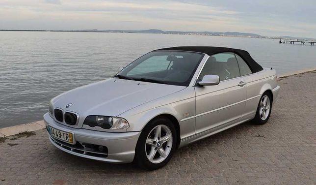 BMW 320 CI Cabrio com Hard Top e GPL 170cv