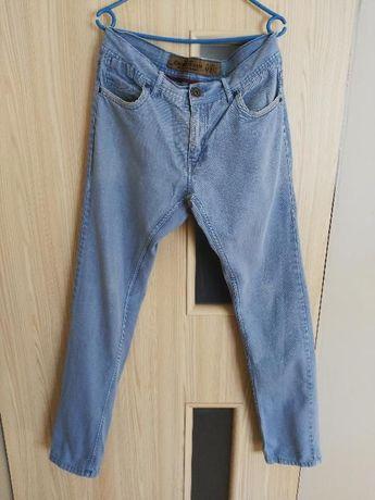 spodnie jeansowe rurki Cropp, rozm. 33/32