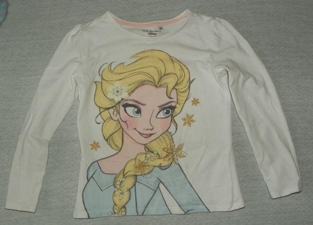 Bluzka Frozen rozmiar 122