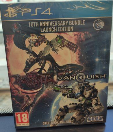 Bayonetta & Vanquish edição steelbook - PS4