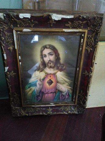 Quadro Sagrado Coracao de Jesus