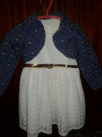 Платье с болеро на 2 года