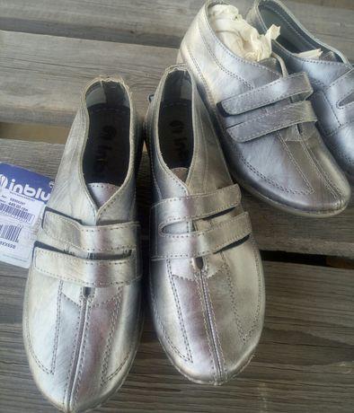 красивые кожаные туфли-кросовки