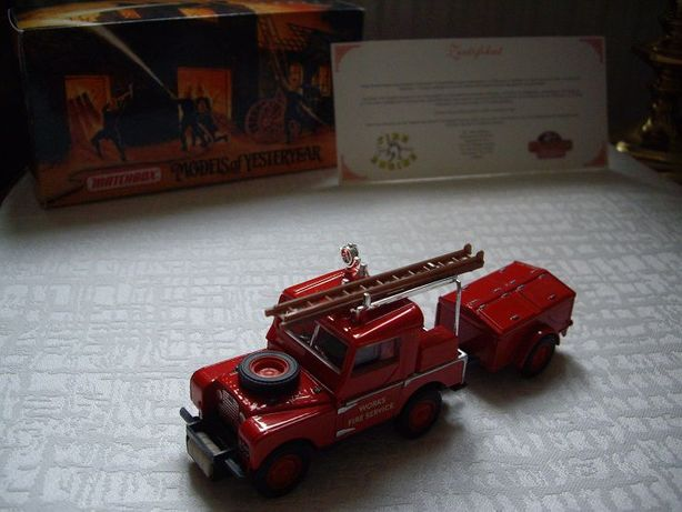 Matchbox Yesteryear LAND ROVER AUXILIARY 1948r