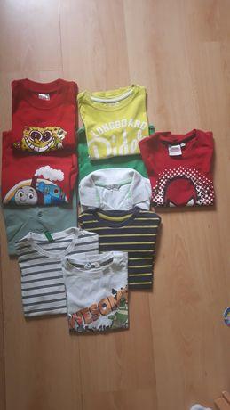 Koszulki dla chłopca rozm 104