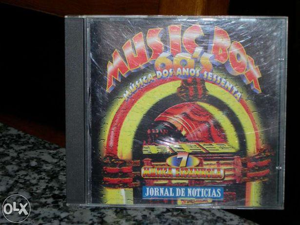 """Vendo Cd Music Box 60's """"Música Espanhola"""""""