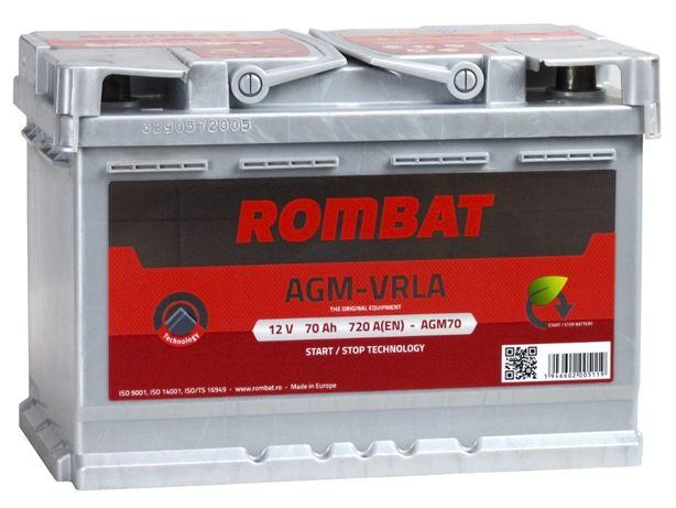Akumulator ROMBAT AGM 70Ah/720A
