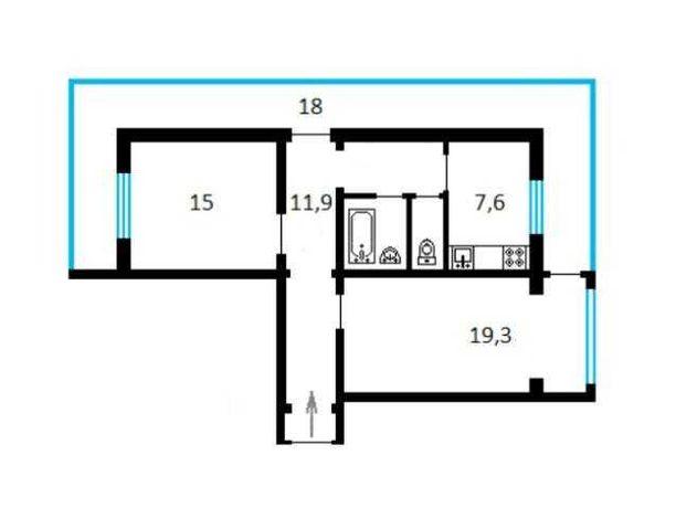 Продам 2к квартиру|ПОД БИЗНЕС|Метро КПИ|Smart Plaza|Шулявская 15\23