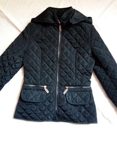 Куртка черная осень/весна