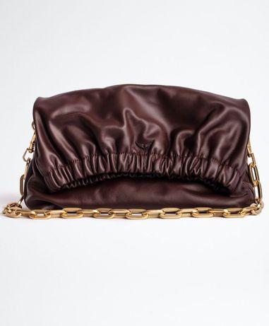 Сумка коричневая Zadig & Voltaire