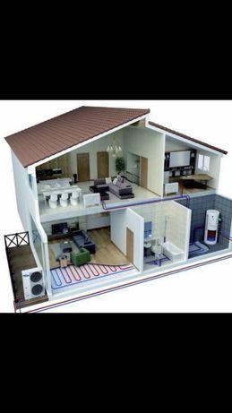 Отопление квартир и дома!Полная комплектация!Спец цены!