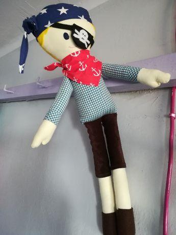 Lalka Pirat chłopiec przytulanka Dzień Dziecka