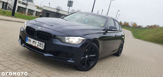BMW Seria 3 ORYGINAŁ*Black Sport Line*2.0i 184KM*Skóra*Alu*Serwis*Bezwypad*Piękna