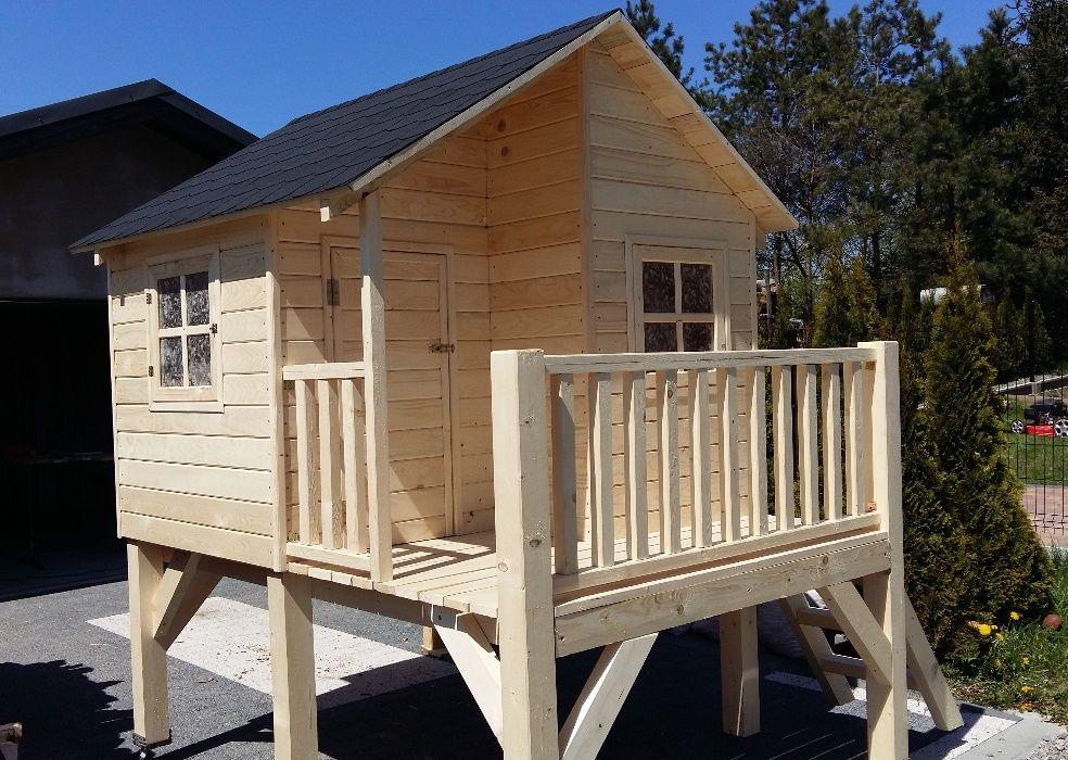 Domek drewniany dla dzieci Plac zabaw