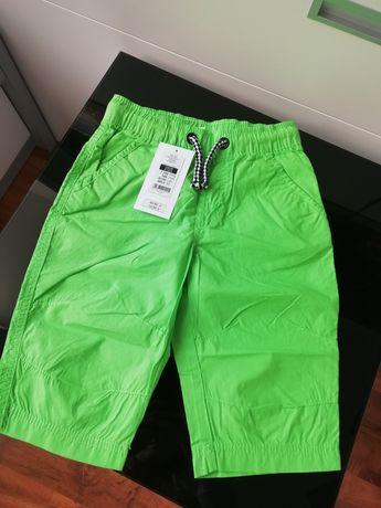 Spodenki spodnie 122 nowe