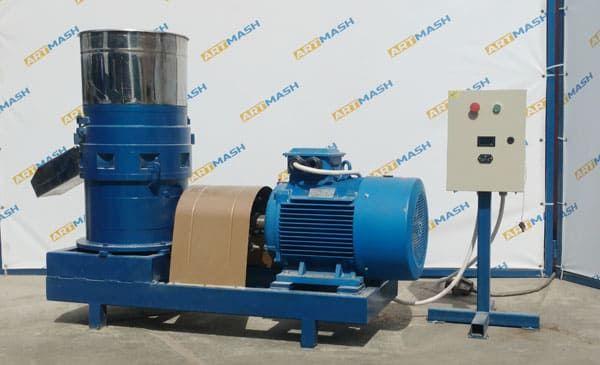 Гранулятор кормов 37 кВт до 1000 кг/ч от производителя