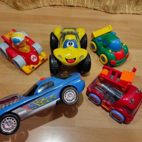 Дитячі машини Сhicco,Fisher Price,Hotwels.