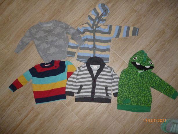 sweterki/bluza rozmiar 86-92