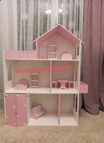 Кукольный домик Домик для кукол Мебель