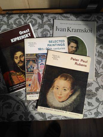Открытки (наборы) репродукций картин в ассортименте (П.Рубенс и др)