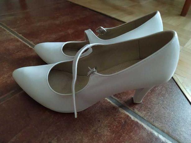 Buty ślubne Brilu rozmiar 38