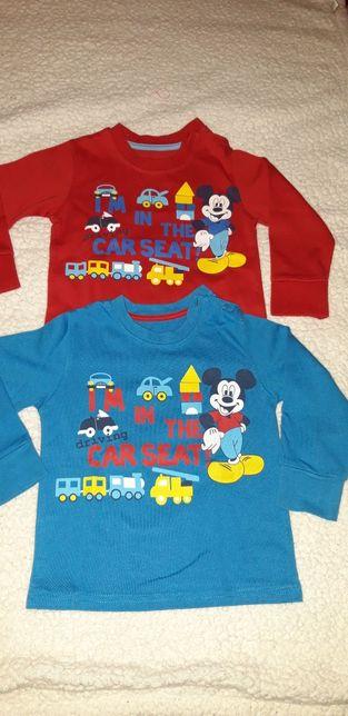 1 pólo Benetton / 2 Sweatshirt Mickey e Casaco malha