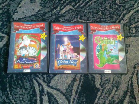 Kolekcja najpiękniejszych bajek DVD
