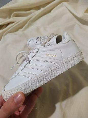 Кроссовки кожа натуральная Adidas gazelle оригинал в идеальном 16 разм